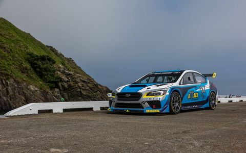 Mark Higgins, Subaru and ProDrive worked together to break Subaru's existing Isle of Man TT lap record at this year's race.
