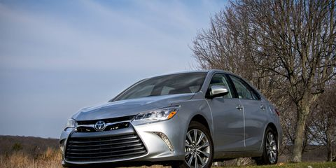 The Toyota Camry XLE V6 has received a thorough facelift for the 2015 model year.