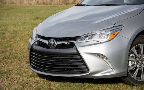 The front fascia has been redesigned with a more Lexus-like appearance.