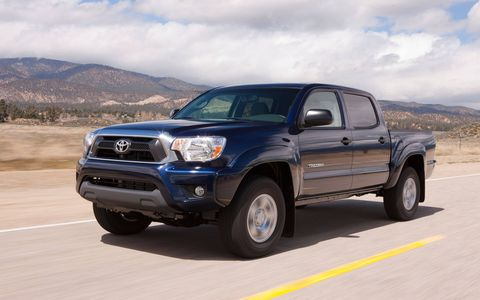The 2014 Toyota Tacoma Double Cab feels rugged.