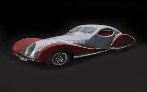 The North Carolina Museum of Art will celebrate Art Deco cars and motorcycles in an impressive and intriguing exhibit that will run from October 1 to January 15 in Raleigh NC. Here is a 1938 Talbot-Lago T-150C-SS Teardrop from the Collection of J. W. Marriott, Jr.