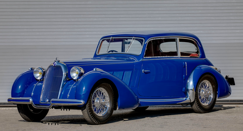 LOT S107 1939 Talbot-Lago T150-C Coupe Pebble Beach First in Class