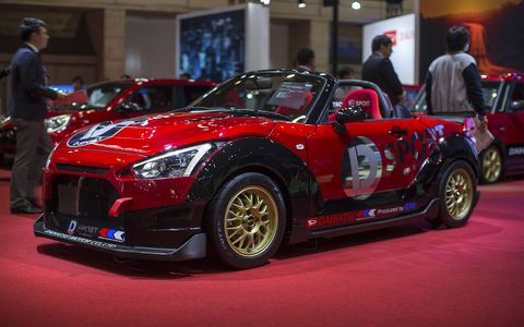 The annual Tokyo Auto Salon is a must-see show for auto enthusiasts.