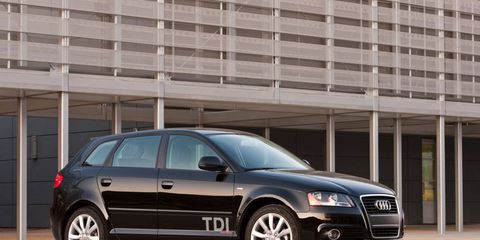 The Audi A3 2.0 TDI is currently the only model that the automaker has indicated as having the emissions-cheating software.