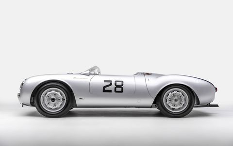 70 years of cool Porsches will be stuffed into the Petersen Museum for The Porsche Effect, a new exhibit opening Feb. 3. This is a 550 Spyder.