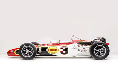 Twelve of Dan Gurney's greatest race cars are on display in a new exhibit at the Petersen Automotive Museum in Los Angeles. The exhibit opened January 27 with a gala bash attended by several hundred family, friends and fans, as well as the great Gurney himself. It runs through January of 2018.