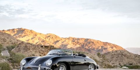 Some more of the Porsches that make up The Porsche Effect at the Petersen. Here's Steve McQueen's 356 Speedster.
