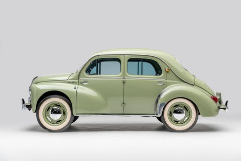 The early days of the Japanese auto industry are being celebrated at the Petersen Automotive Museum's new exhibit on Japanese cars. This is a 1962 Hino Renault Model PA62.