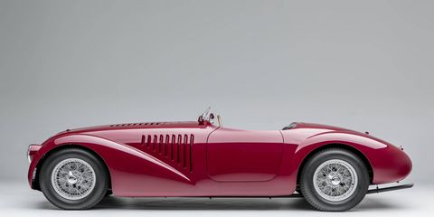 A new Ferrari exhibition is now open at the Petersen Automotive Museum in Los Angeles featuring 14 significant cars, starting with the 1947 125 S.