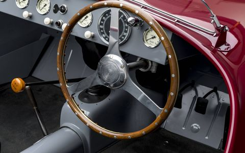 1947 FERRARI 125 S TOP SPEED: 130 MPH HORSEPOWER: 118 ENGINE: 1.5 LITER V-12NUMBER BUILT: 2 (TOTAL 125 S'S)After World War II, Enzo Ferrari rebuilt his Maranello workshop, which had been leveled by Allied bombs. Because obtaining financing was so difficult at the time, he was forced to sell personal items to fund the production of the first car to bear his name. Dubbed the 125 S, it was also the first vehicle he equipped with the now-legendary Ferrari V-12 engine. It did not finish the 1947 Piacenza Circuit race, its first ever, but Enzo Ferrari was undaunted and went on to claim victory at the Terme di Caracalla circuit in Rome soon thereafter. COLLECTION OF ROGER WILLBANKS