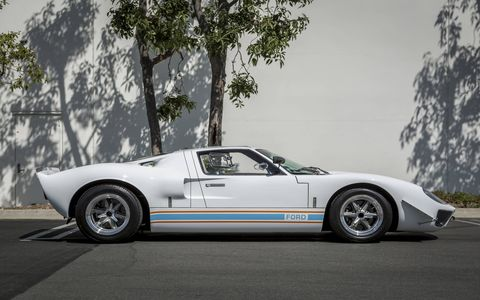This GT40 MkI from Hillbank Motorsports has a Ford Racing engine. You can never have too many photos of GT40s.