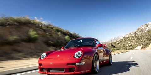 This lightweight 993 is a raw interpretation of what an air-cooled 911 GT3 RS would have been.