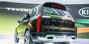 The Telluride SUV premiered at the Detroit auto show last January.