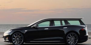 A Tesla Model S wagon, as seen in our rendering, is one of several body styles that Tesla has declined to build, at least for now.