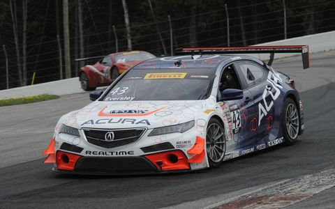 We went out to GingerMan Raceway in western Michigan to take a few laps with the TLX GT Acura race car.