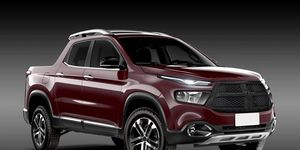 The Fiat Toro could serve as a basis for a new Ram pickup, as seen in this rendering.