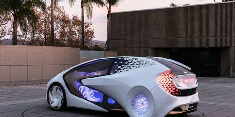 Toyota previewed an EV of the distant future with the Concept I prototype at CES.
