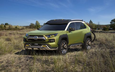 The Toyota FT-AC makes its debut at the Los Angeles Auto Show, in a city where much of the population escapes to the hills, deserts, or beaches for their much-needed weekend recharges.