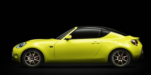 Toyota will bring this small sports car concept, dubbed the S-FR, to the 2015 Tokyo motor show.