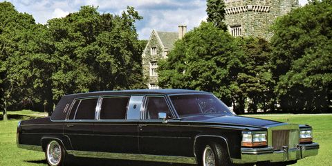 The 1989 Cadillac Trump Golden Series limousine offered <i>pure, unadulterated class</i>, inside and out.