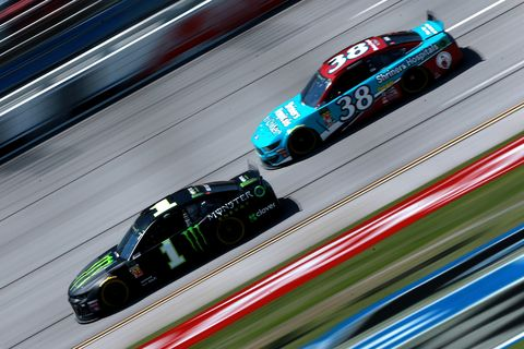 Sights from the NASCAR action at Talladega Superspeedway Friday April 26, 2019.