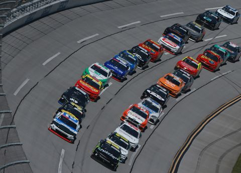 Sights from the NASCAR action at Talladega Superspeedway Saturday April 27, 2019.