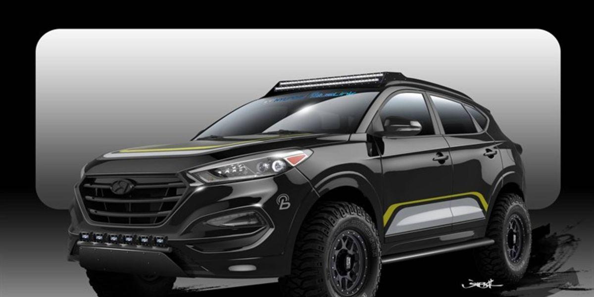 2016 Hyundai Tucson Off Roader Crawling To Sema
