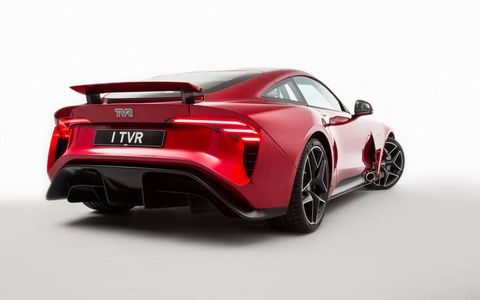 TVR will begin building the Griffith starting in late 2018 and start delivering cars to customers (outside the U.S., because we can't have nice things) in early 2019, with a starting price around $119,000.