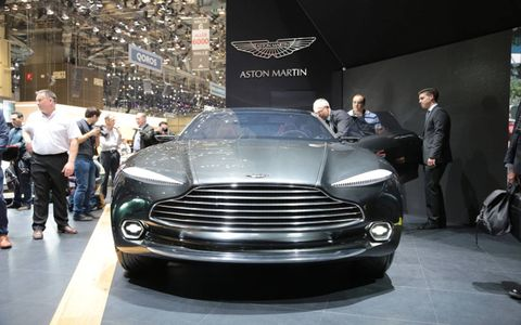 The post-apocalyptic Aston. If you need to reach us, we'll be in our bunker.