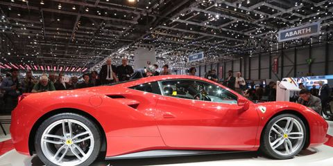 The 488 GTB will reportedly top speeds of 205 mph.