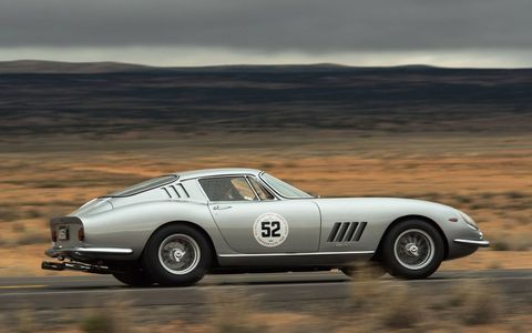 The 27th running of the Copperstate 1000 featured vintage cars all the way up to 1973. It runs all over the most beautiful parts of Arizona. Here's a 1967 Ferrari 275 GTB Series II Alloy.