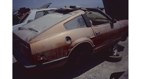 The 280ZX is another car that remains (relatively) easy to find in California self-service wrecking yards.