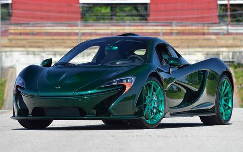 The P1 is also sold out, so an auction like this or a private sale is your only option for acquiring one.