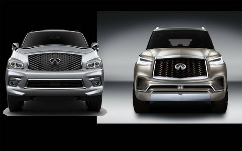 The QX80 Monograph isn't that far off from the current QX, nor a skeptical beaver.