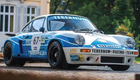 This 911 RSR is one of just 52 RSR 3.0s and one of the only 10 built in 1975. It has an extensive racing history and was formerly owned by renowned actor and racing driver Paul Newman.
