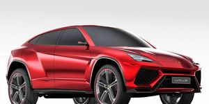 A Lamborghini SUV was previewed in concept form in 2012, named the Urus.