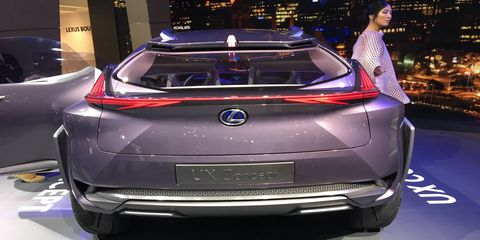 """""""The UX Concept highlights Lexus' intention to attract an ever-wider group of new, younger, ever-connected urban customers (""""Urbanites"""") to the brand for the first time."""""""