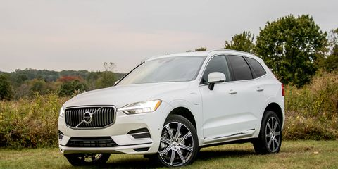 The redesigned Volvo XC60 T8 offers a luxurious interior along with an advanced powertrain.