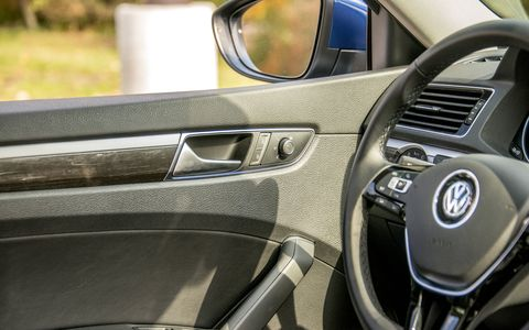 VW has also reworked the interior of the midsize sedan.