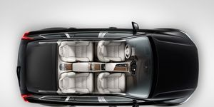 The 2016 Volvo XC90 Excellence will feature a reworked rear passenger compartment with reclining seats.