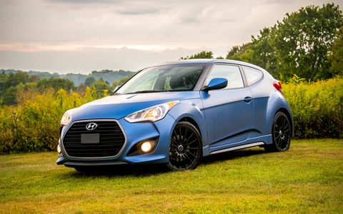 Hyundai Veloster Turbo Rally Edition Review Throwback Hot Hatch
