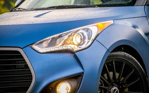 The Veloster Rally Edition serves up hot hatch looks and thrills, without the frills.