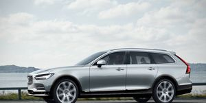 The Volvo V90 Cross Country, seen in our rendering, is expected to debut by the end of 2016 and go on sale early next year.
