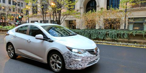 This Buick-badged Volt could be the rumored Buick Velite that will be sold in China.