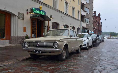They seem to like Plymouth Valiants in Helsinki.