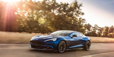 """Aston Martin starts with the V12-powered Vanquish, adds horsepower, better throttle response and """"greater poise"""" to the suspension to make the Vanquish S. Pricing is a mere $297,775, which includes destination and gas guzzler tax. And you will want to guzzle gas in this."""