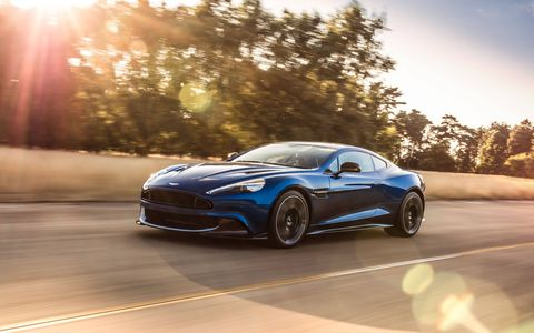 "Aston Martin starts with the V12-powered Vanquish, adds horsepower, better throttle response and ""greater poise"" to the suspension to make the Vanquish S. Pricing is a mere $297,775, which includes destination and gas guzzler tax. And you will want to guzzle gas in this."