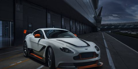 The Aston Martin Vantage GT3 goes on sale later this year.