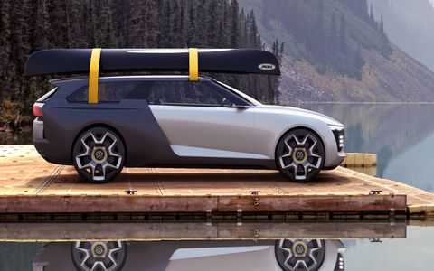 The 2016 VW Varok concept is a rendering of a ute/shooting brake created by two former VW interns.