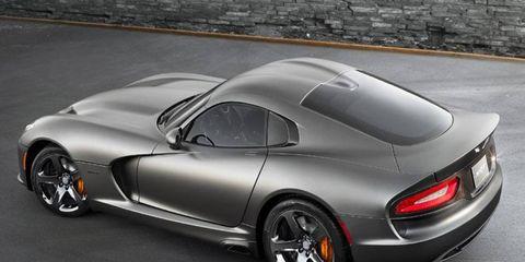Buying a new Dodge Viper SRT just got $15,000 cheaper.